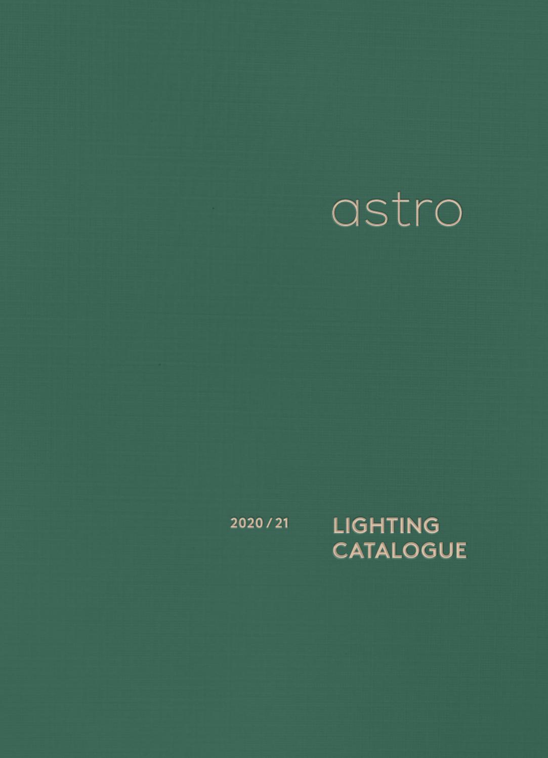 Astro Lighting Catalogue 2020 21 Interior By Astro Lighting Issuu