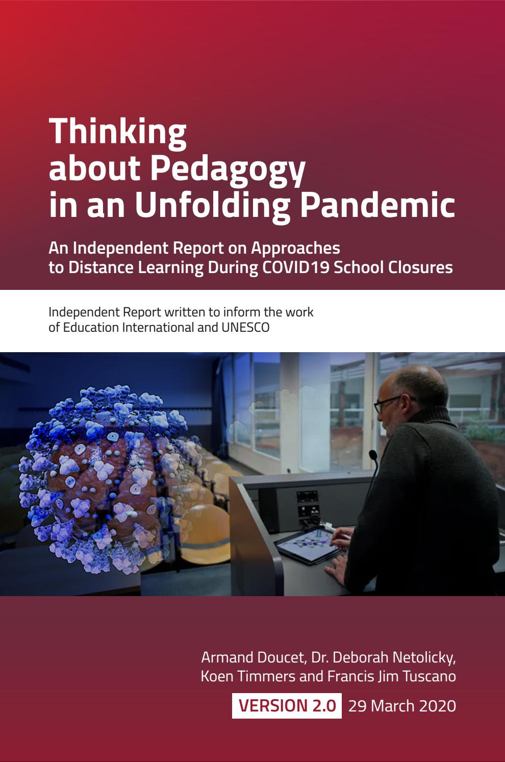 Thinking About Pedagogy In An Unfolding Pandemic By Education International Issuu