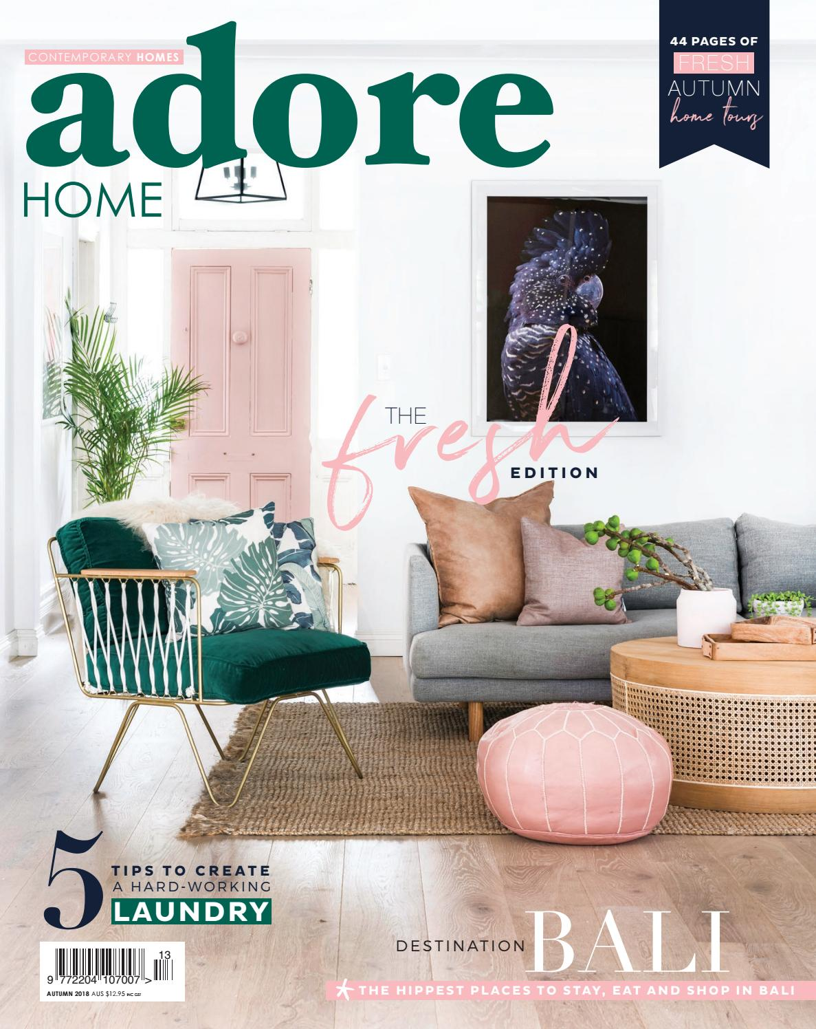 Autumn 2018 By Adore Home Magazine