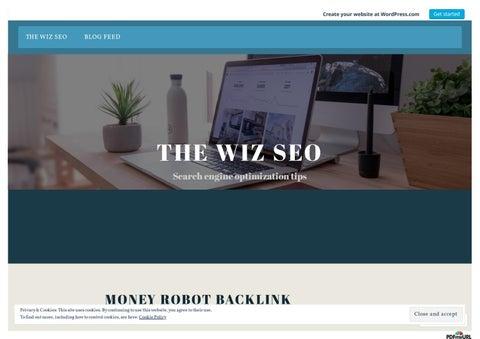 Money Robot Link Building Tool
