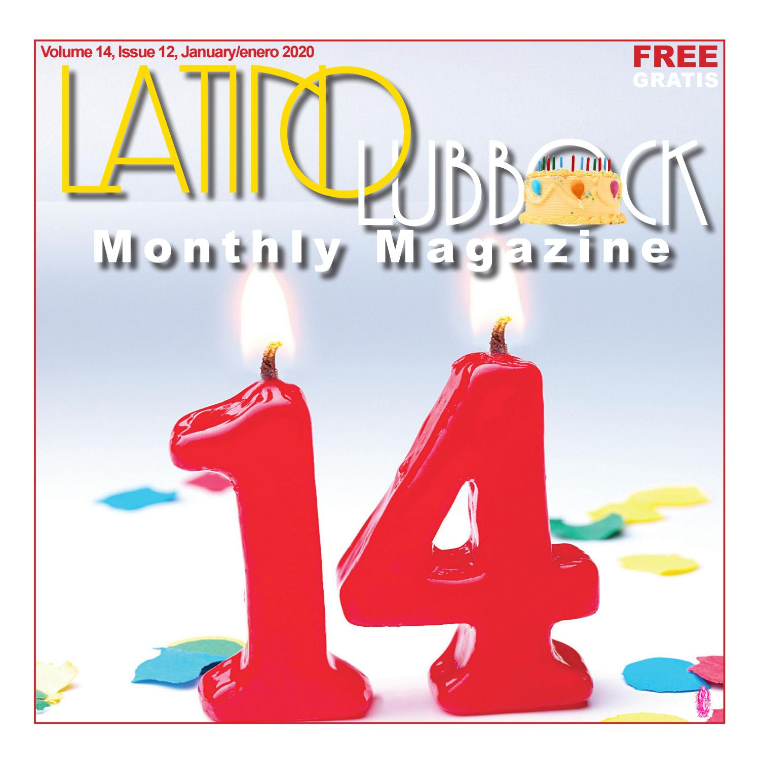 Joe Carrillo Press Conference 2020 Halloween Party Latino Lubbock Magazine, Volume 14, Issue 1   January 2020 by