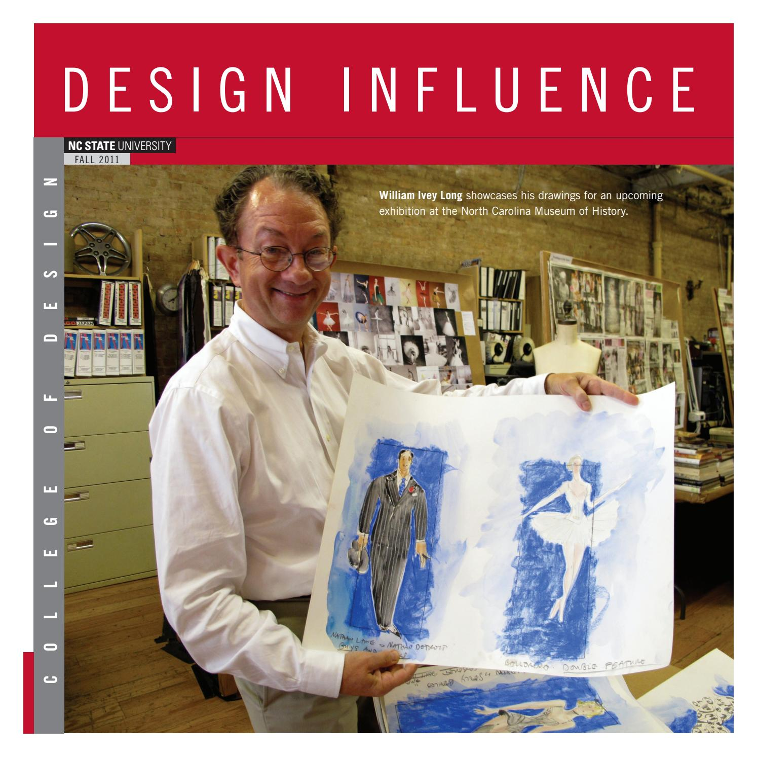 Design Influence Magazine Fall 2011 By Nc State College Of Design Issuu