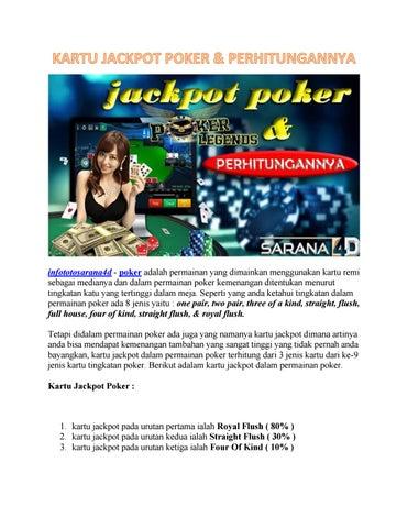 Kartu Jackpot Poker Perhitungannya By Cshanny200 Issuu