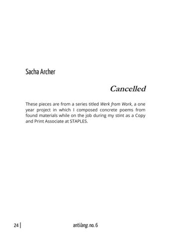 Page 30 of Cancelled