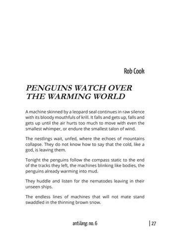 Page 33 of PENGUINS WATCH OVER THE WARMING WORLD