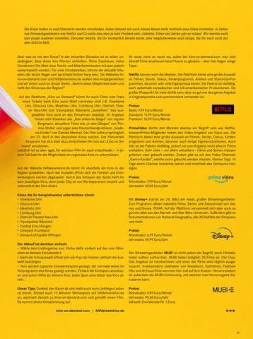 Page 29 of Die besten Streaminganbieter