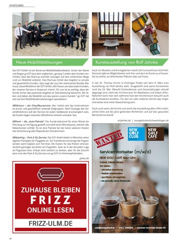 Page 6 of Neues aus Ulm, Neu-Ulm und Umgebung