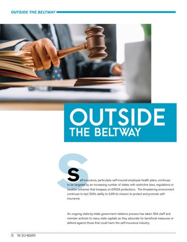 Page 20 of OUTSIDE THE BELTWAY