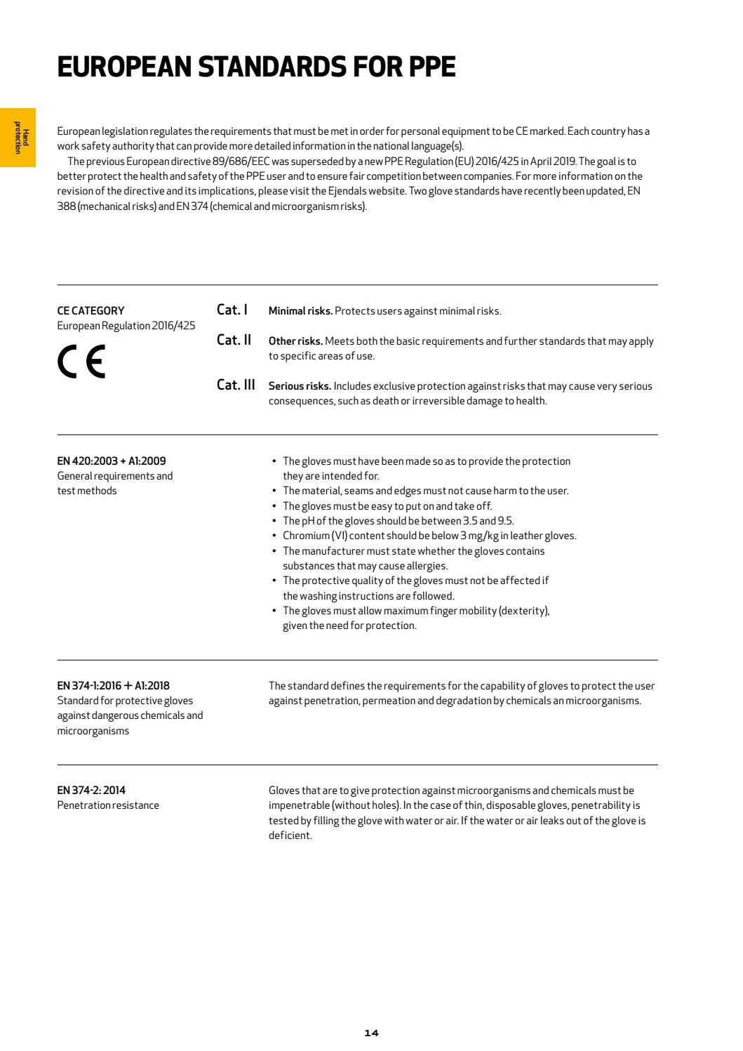 Ejendals Main Catalogue 2020 EN page 14