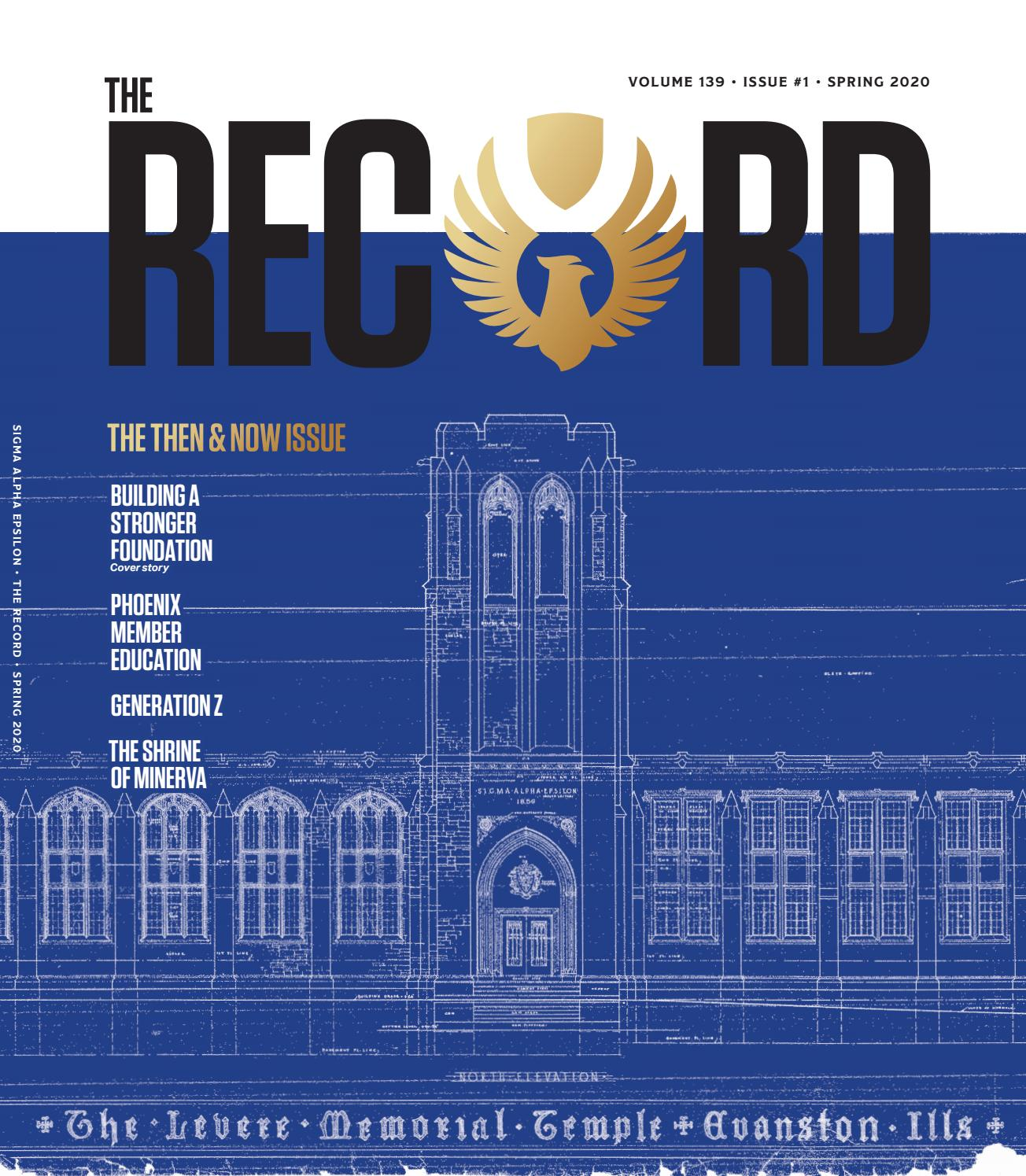 The Record   Volume 20 Issue 20   Spring 20 by Sigma Alpha ...