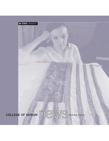 Design News Spring 2002 By Nc State College Of Design Issuu