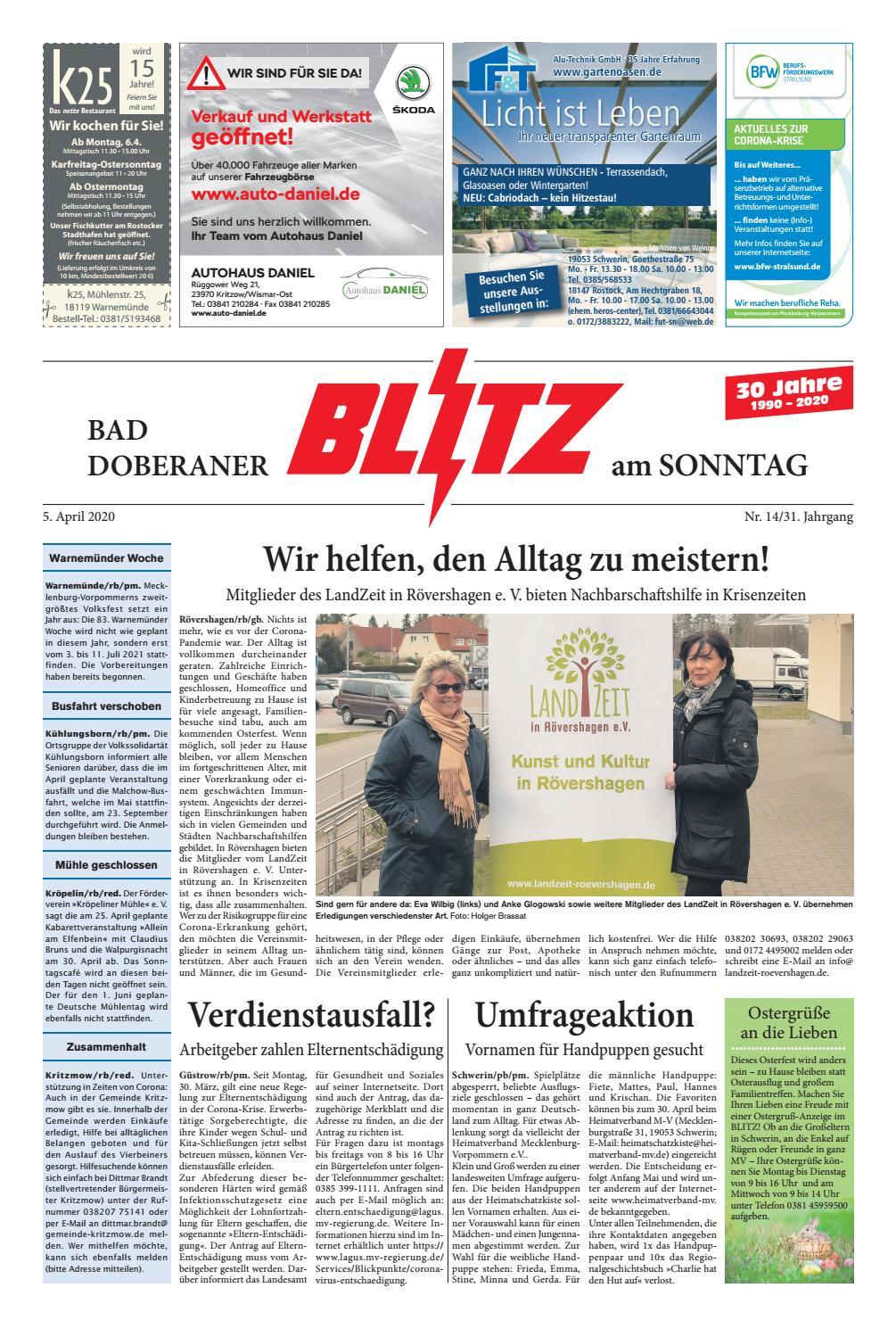 Bad Doberaner Blitz vom 21.21.21 by Blitzverlag   issuu