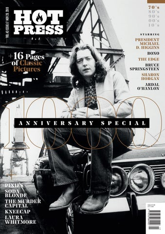 Hot Press 43-17 1000th Issue: U2 - Madonna - Rory Gallagher - Amy ...