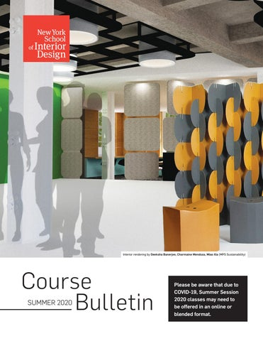 New York School Of Interior Design Issuu