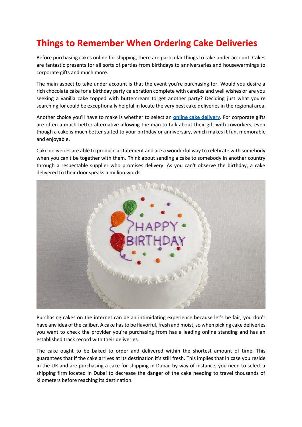 Swell Online Cake Delivery By Wcammy89 Issuu Funny Birthday Cards Online Amentibdeldamsfinfo