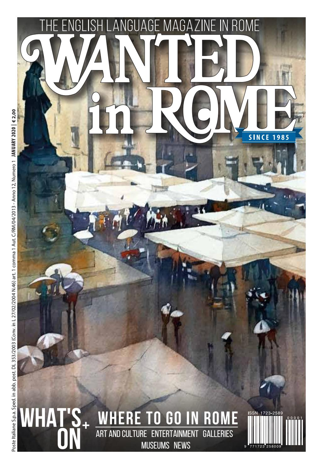 Colori In Luce Correggio wanted in rome - january 2020 by wanted in rome - issuu
