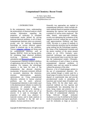 Chemistry dissertation writing a dissertation introduction