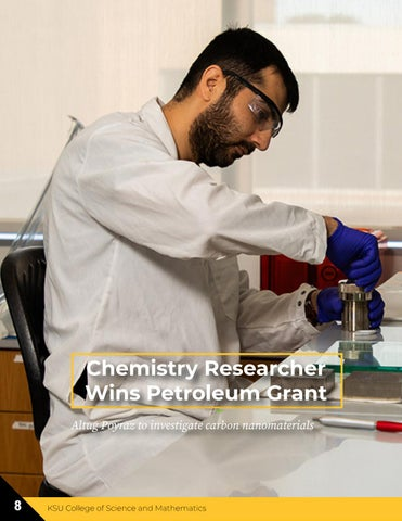 Page 8 of Chemistry Researcher Wins Petroleum Grant