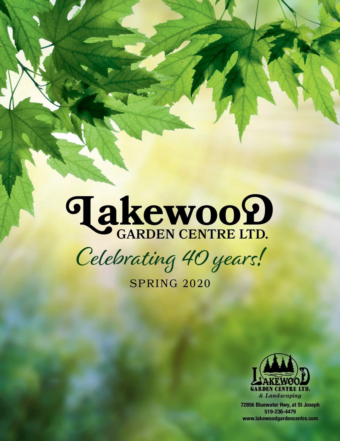 Lakewood Garden Centre Spring 2020 Magazine By Cr Creative Co Ltd Issuu