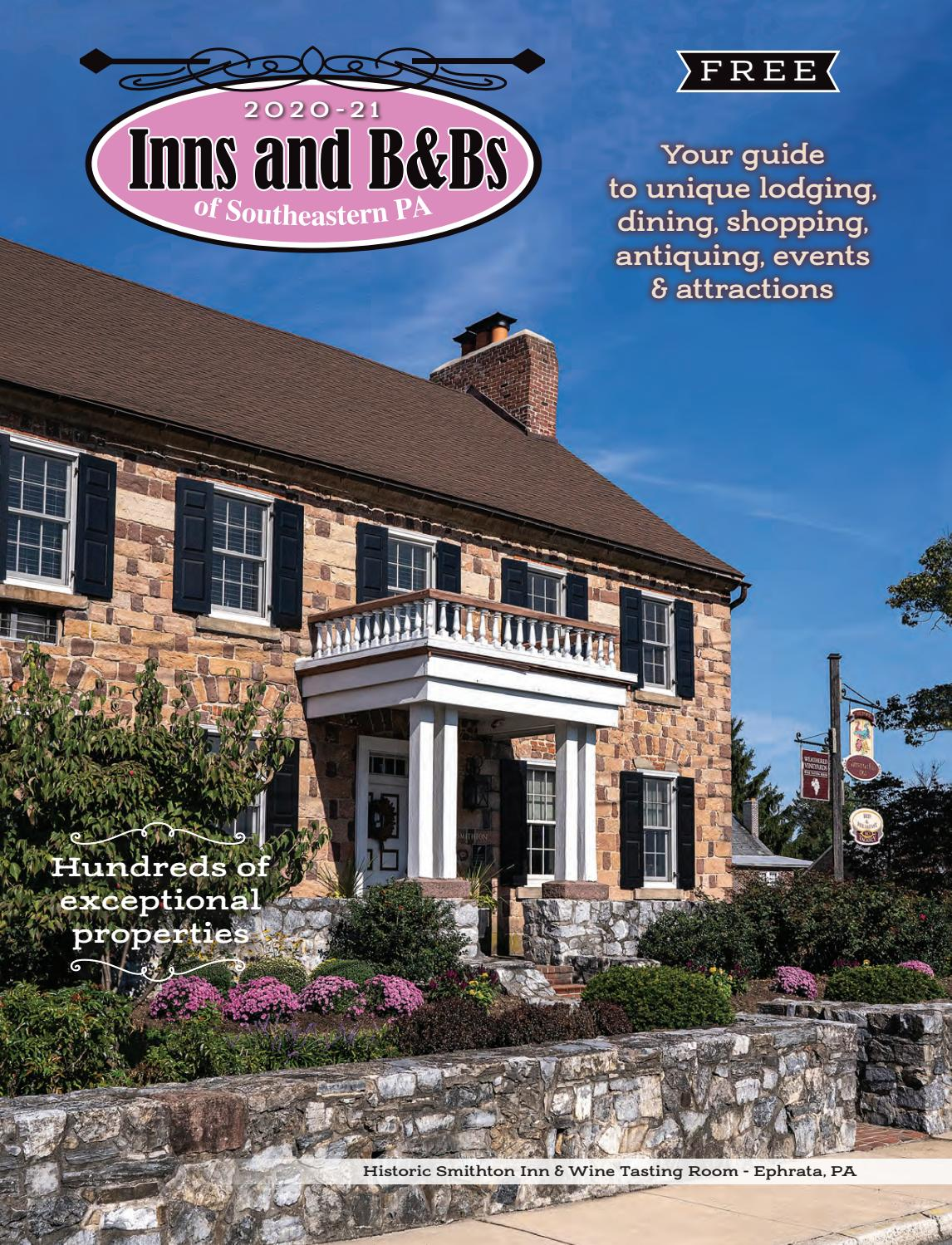 Inns and B&Bs of Southeastern PA 2020 2021 by Engle Printing