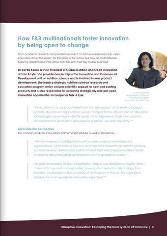 Page 9 of How F&B multinationals foster innovation by being open to change