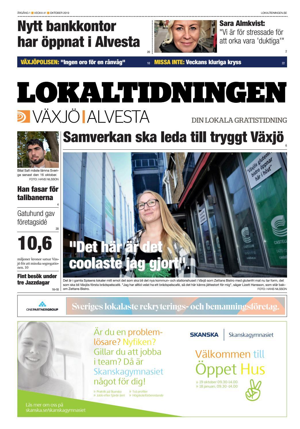 Susanne Catarina Gustafsson, 56 r i Vxj p jaby