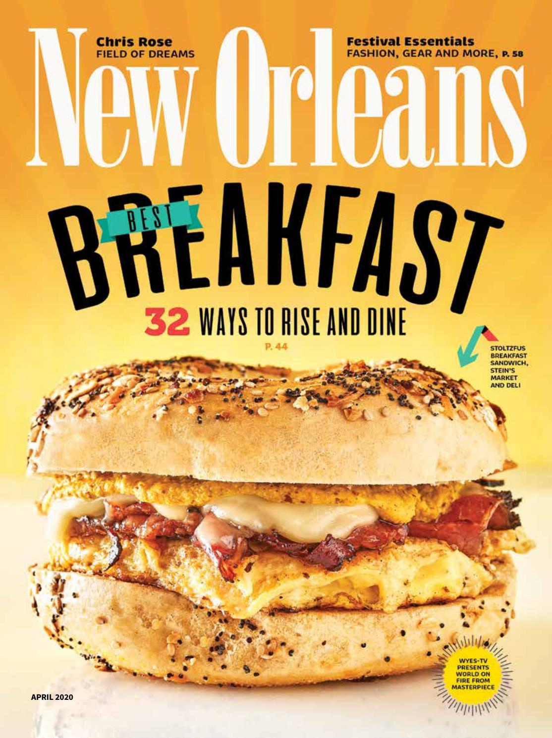 New Orleans Magazine April 2020 By Renaissance Publishing Issuu