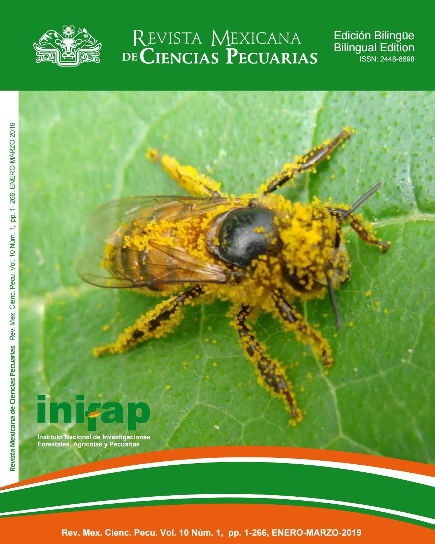 Rmcp Vol 10 Num 1 2019 January March English Version By Revista Mexicana De Ciencias Pecuarias Issuu