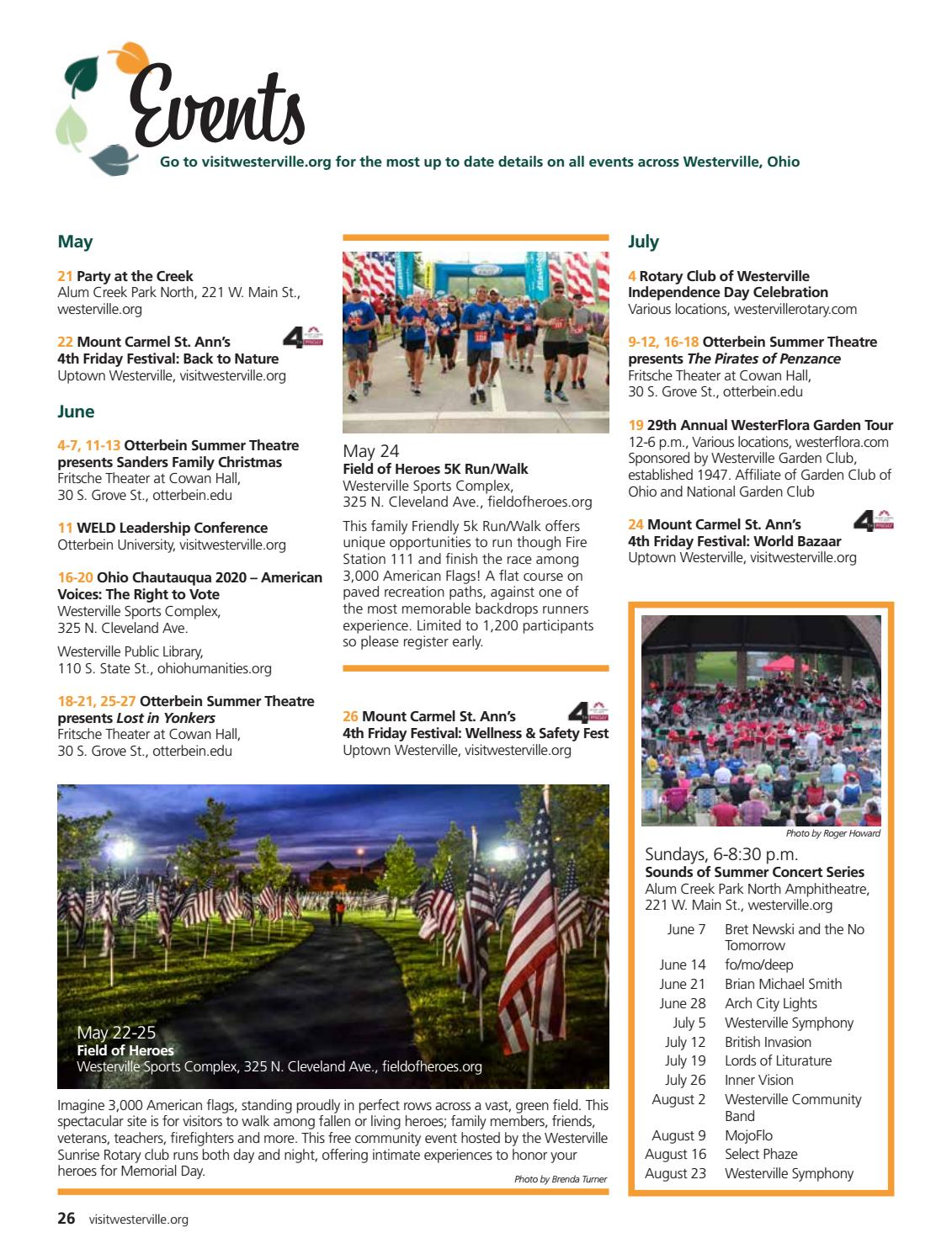 2020 Visit Westerville Guide by CityScene Media Group   issuu