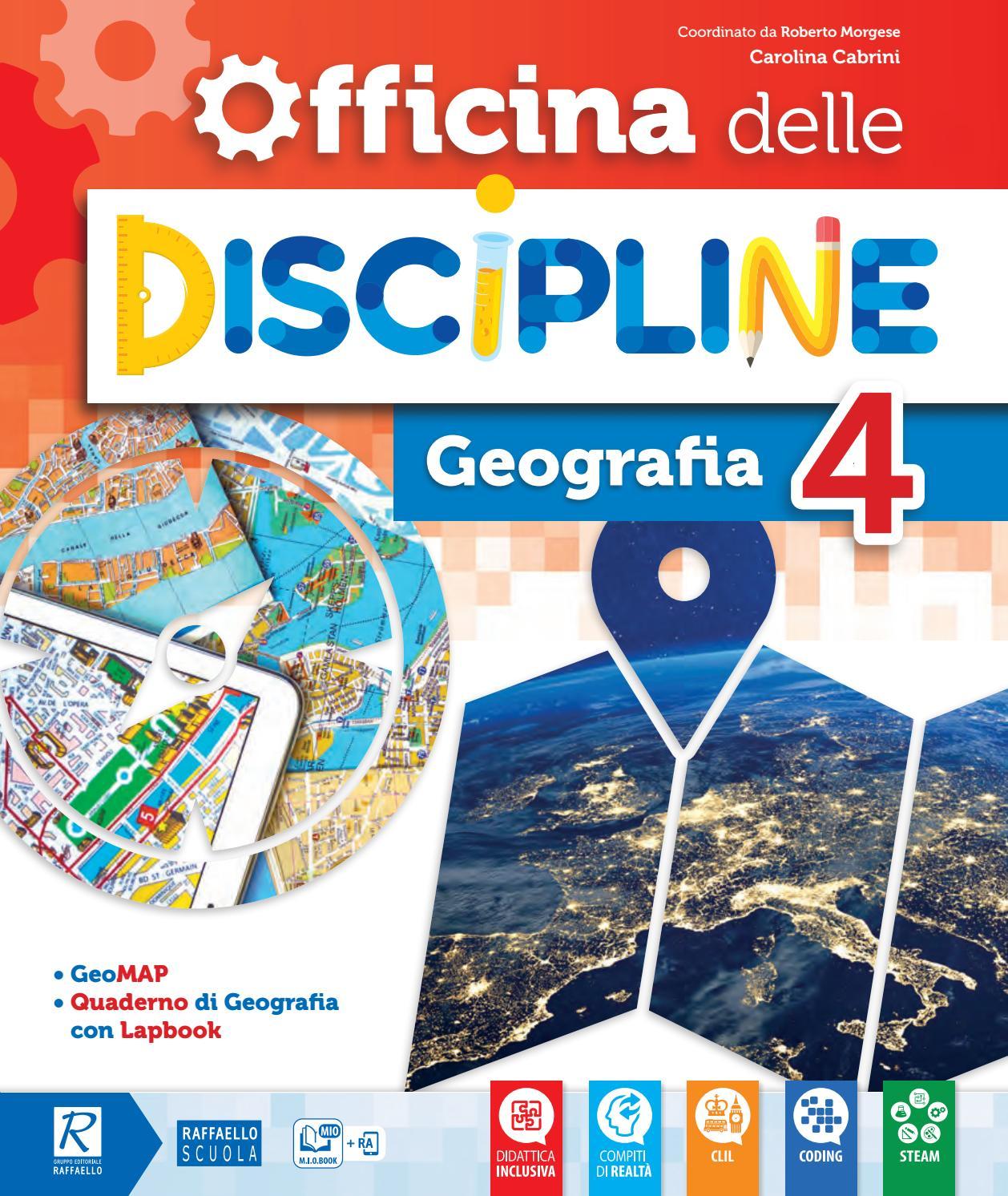 Cartina Dell Italia Alpi E Appennini.Officina Delle Discipline 4 Geografia By Gruppo Editoriale Raffaello Issuu