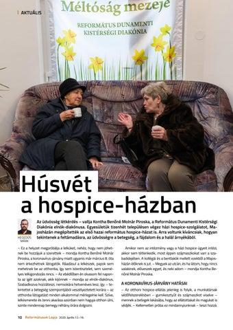 Page 10 of Húsvét a hospice-házban