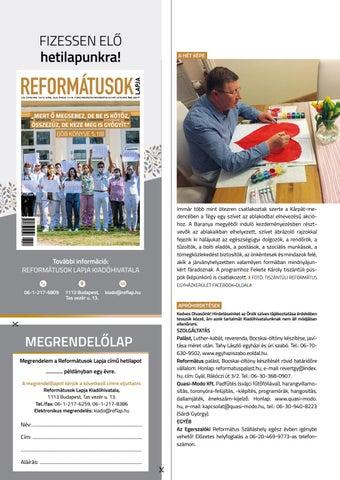 Page 30 of Gyülekezeteiben él az egyház