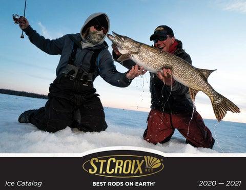 Croix Ice Fishing Legend Black Super Finesse Spring Bobber St