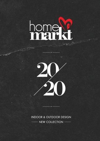 Home markt. Κατάλογος 2020 με έπιπλα για το σπίτι και το κήπο