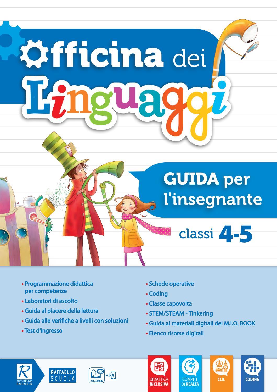 Officina Dei Linguaggi 4 5 Guida Per L Insegnante By Gruppo Editoriale Raffaello Issuu