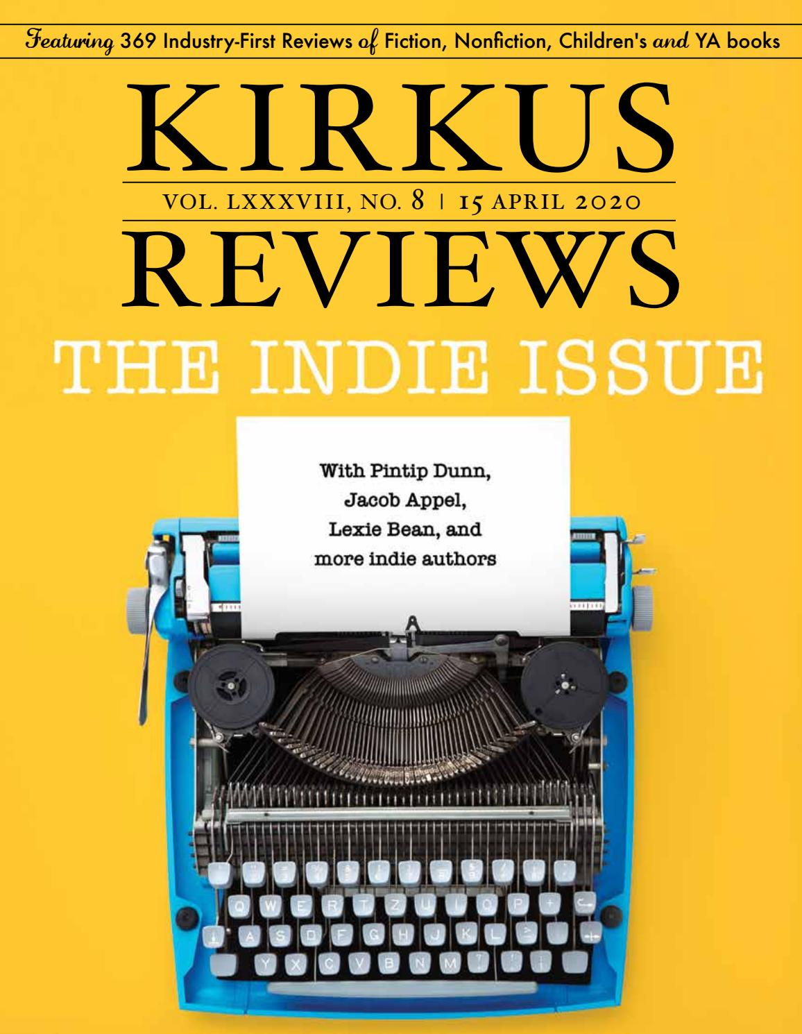 April 15 2020 Volume Lxxxviii No 8 By Kirkus Reviews Issuu