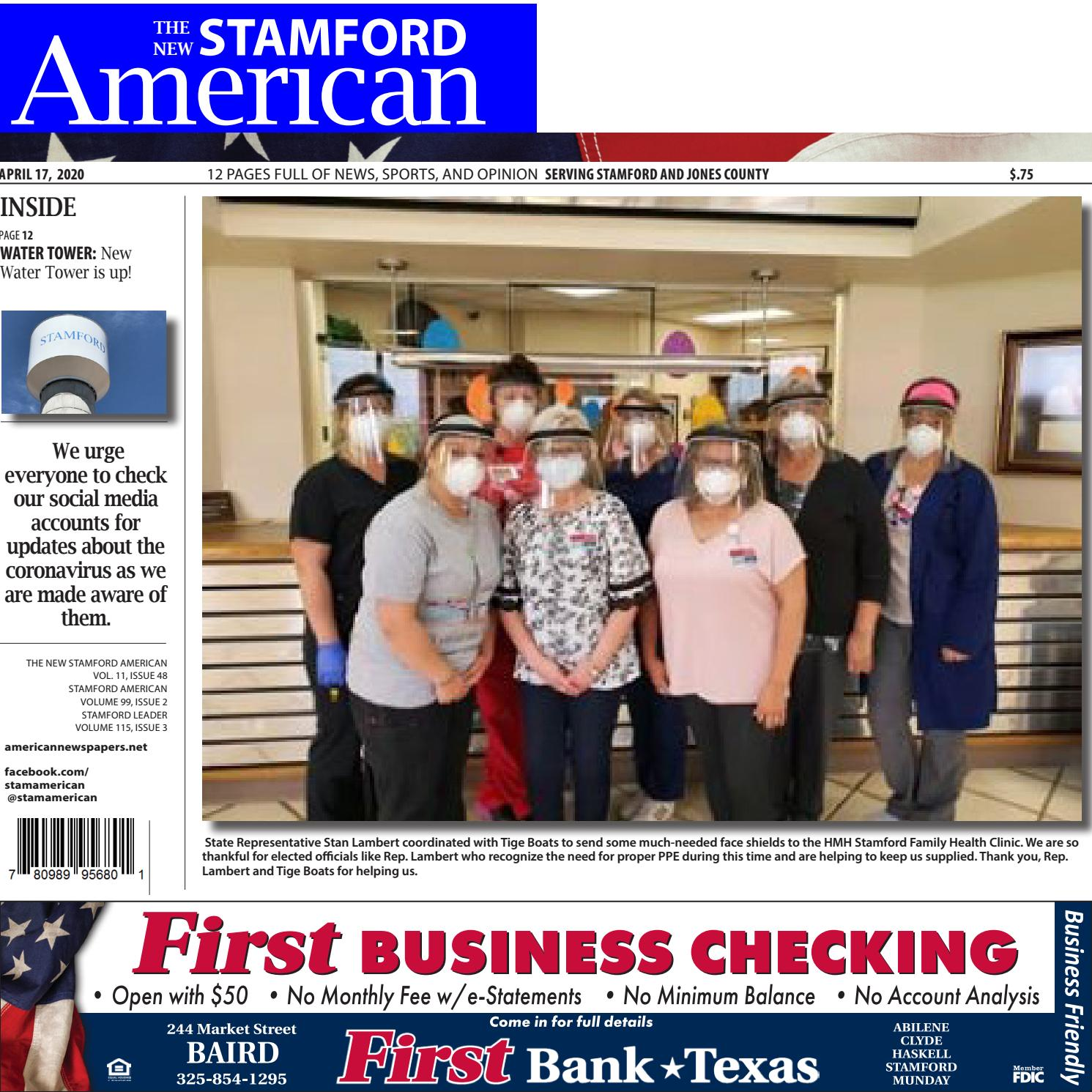 April 17 2020 Stamford American By Callie Metler Smith Issuu