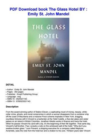 The Glass Hotel Pdf