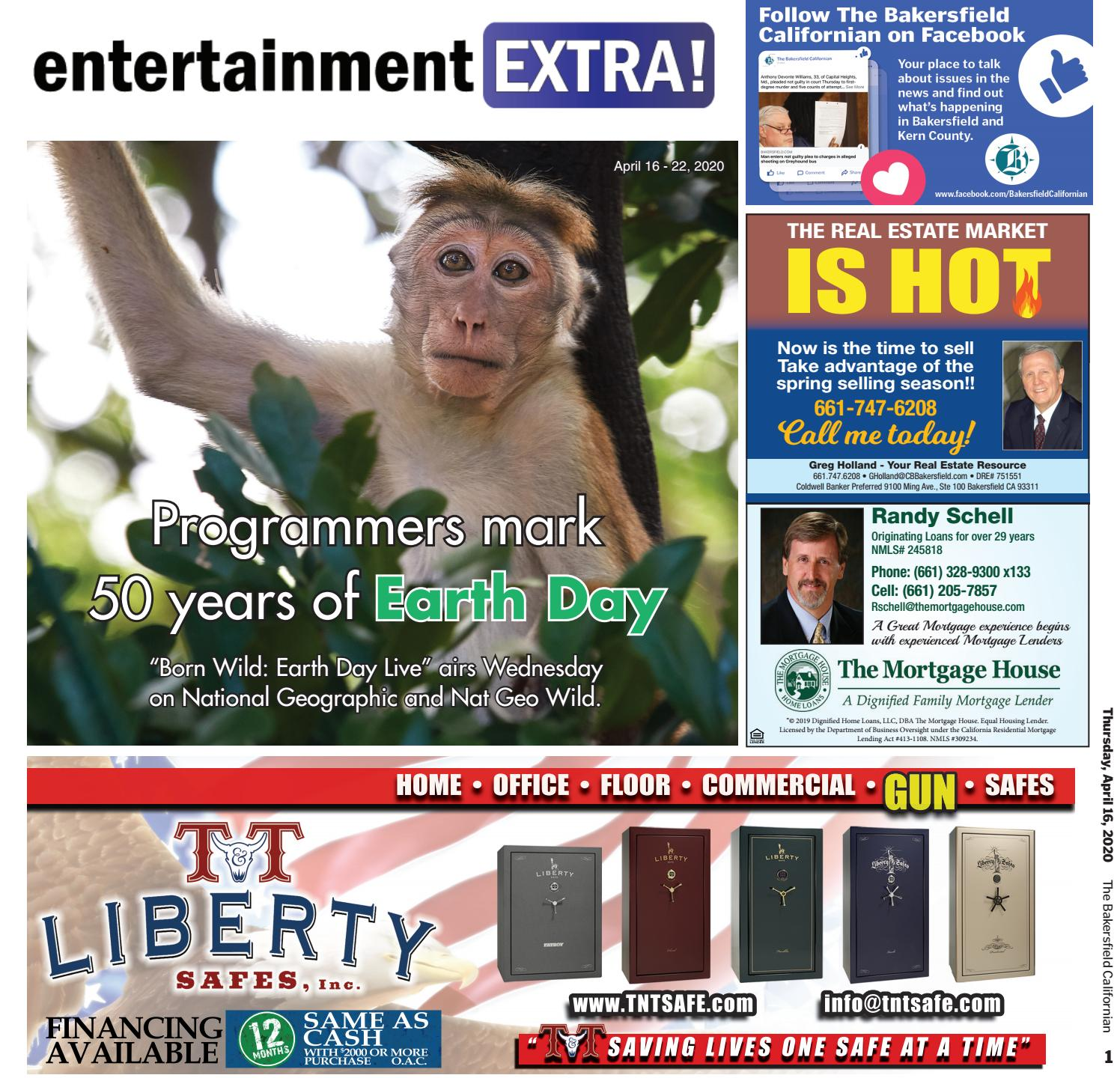 Entertainment Extra April 16 2020 April 22 2020 By The Bakersfield Californian Specialty Publications Issuu