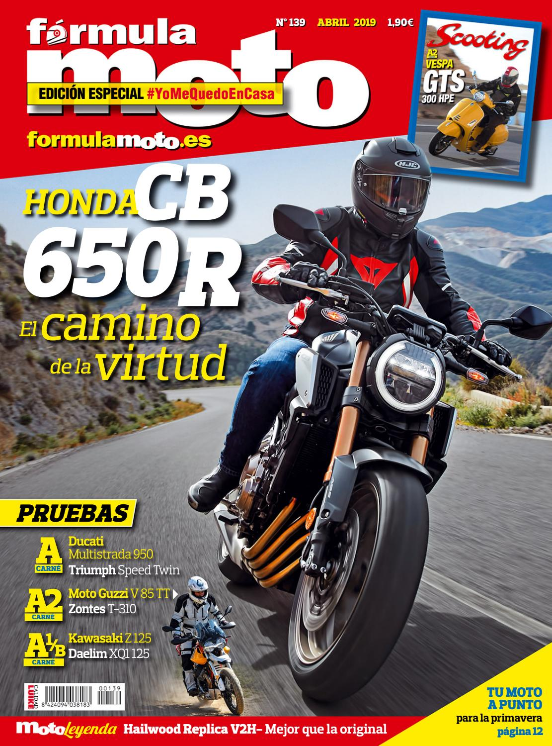 Fórmula Moto 139 Abril 2019 By Luike Issuu