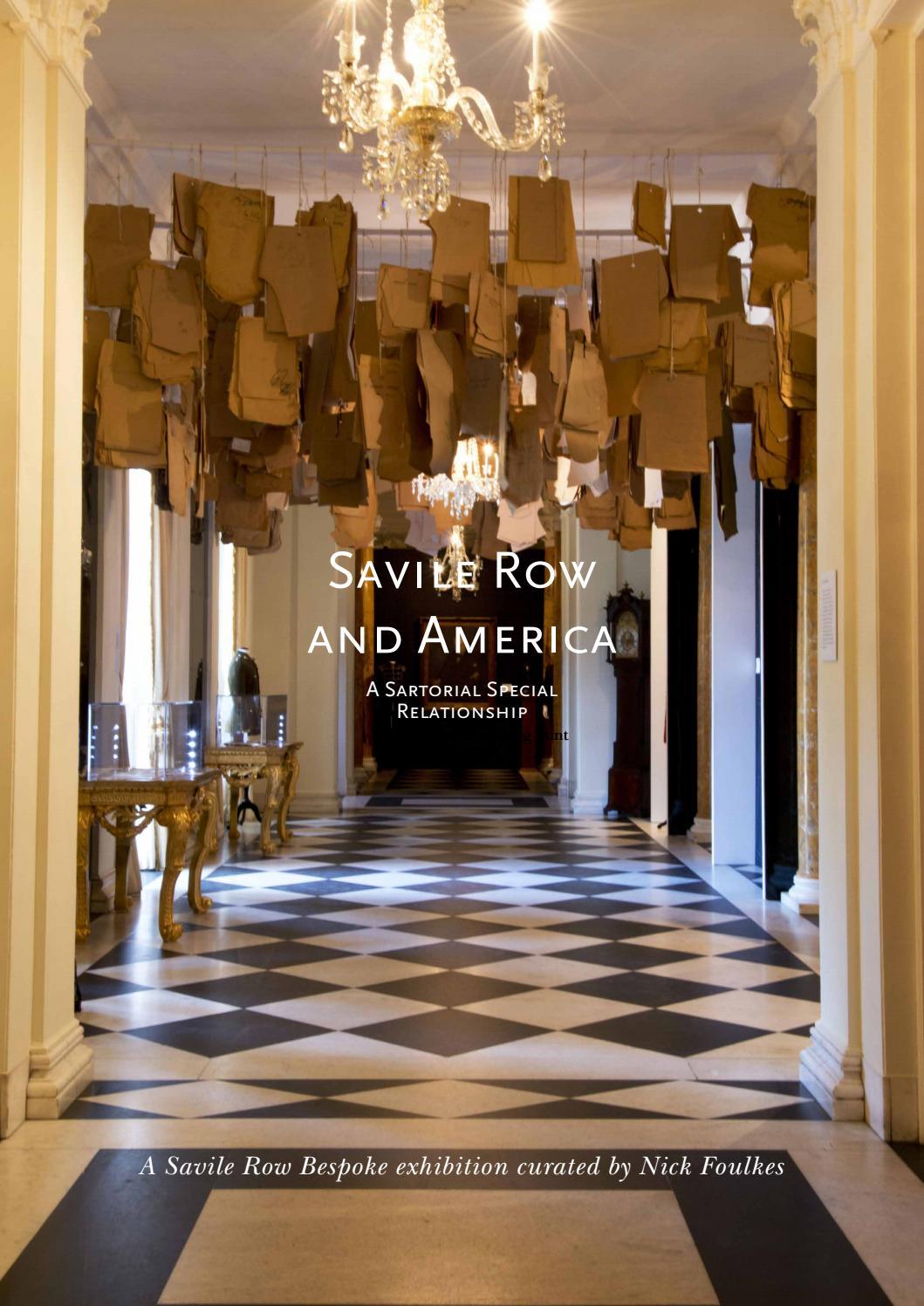 Savile Row And America By Huntsmansavilerow Issuu