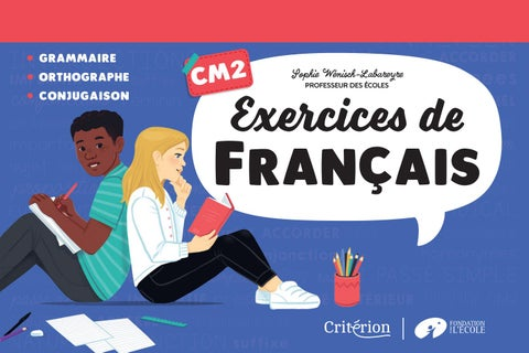 Exercices Francais Cm2 By Fleurus Editions Issuu