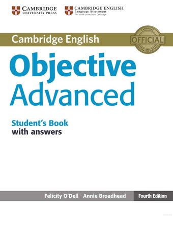 Objective Advanced Student S Book By David Salvador Issuu