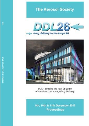 Ddl2015 Digital Proceedings Ddl26 By Info Ddl Conference Issuu