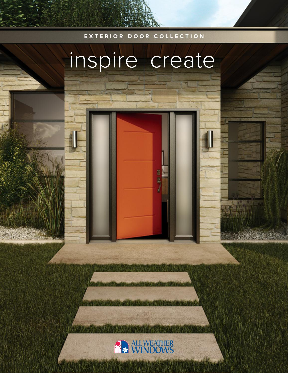 All Weather Windows Exterior Door Collection By