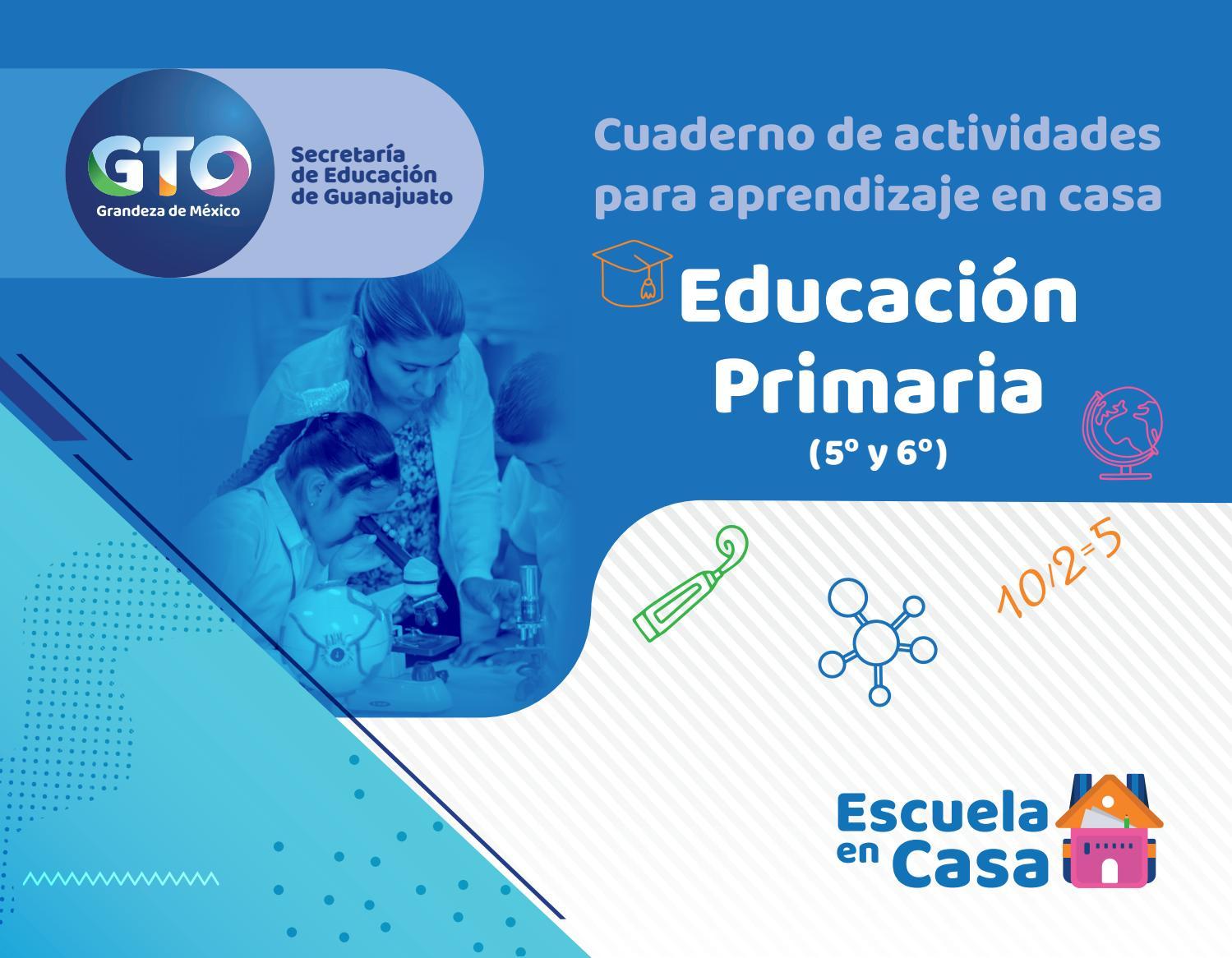 CUADERNO DE ACTIVIDADES PARA APRENDIZAJE EN CASA. Educación Primaria. Tercer  Ciclo. by Ismael Rodríguez Arias - issuu