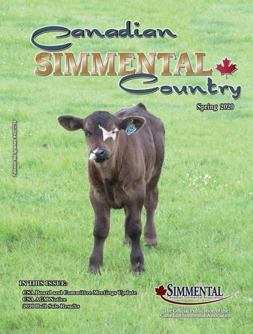 Simmental Country Spring 2020 By Today S Publishing Inc Issuu
