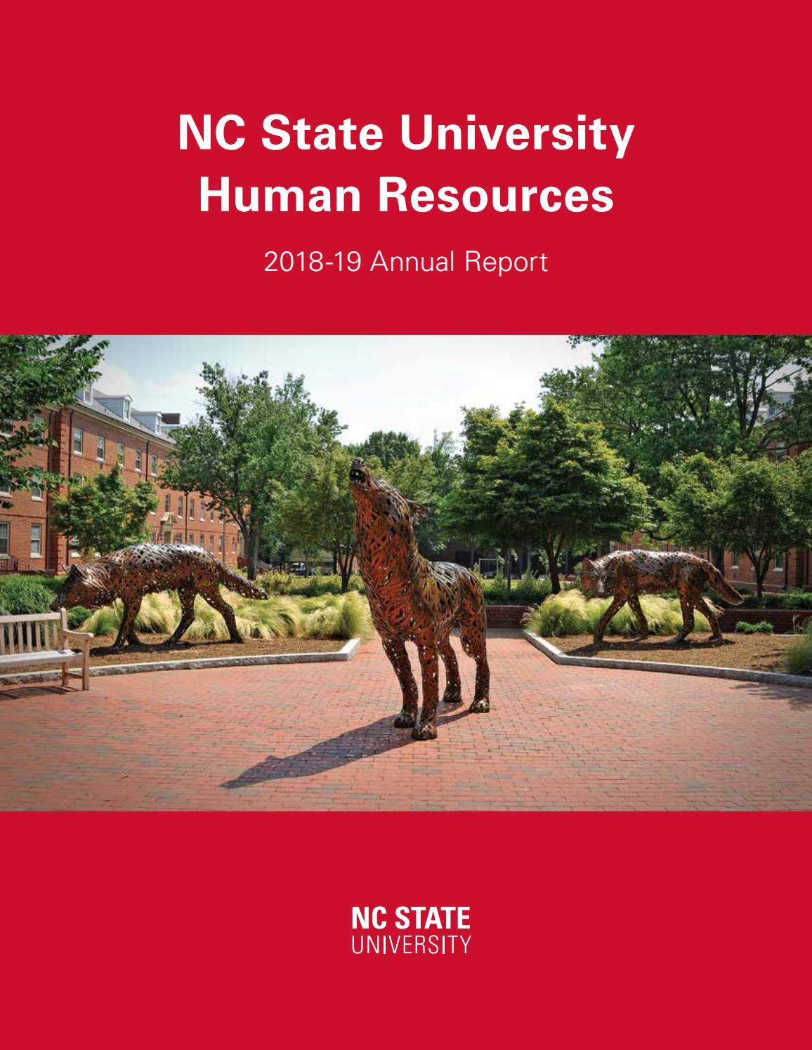 Ncsu 2022 Calendar.Nc State University Human Resources Annual Report 2018 19 By Ncsu Hr Issuu