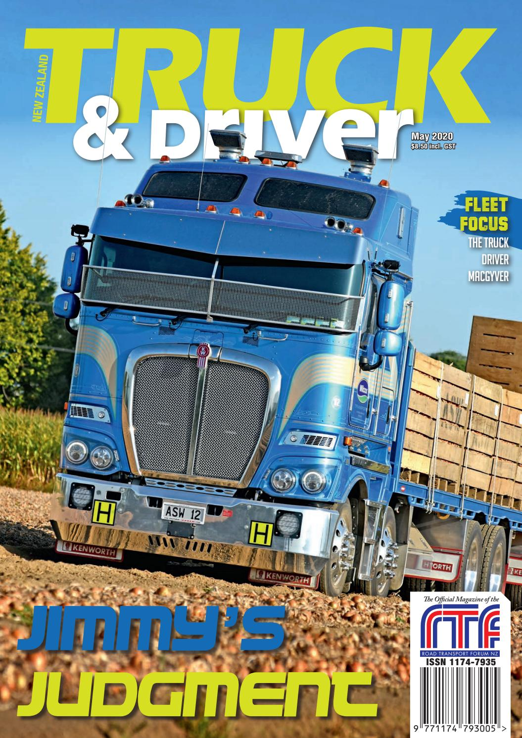 Nz Truck Driver And Equipment Guide Magazines May 2020 By Nz Truck Driver Issuu