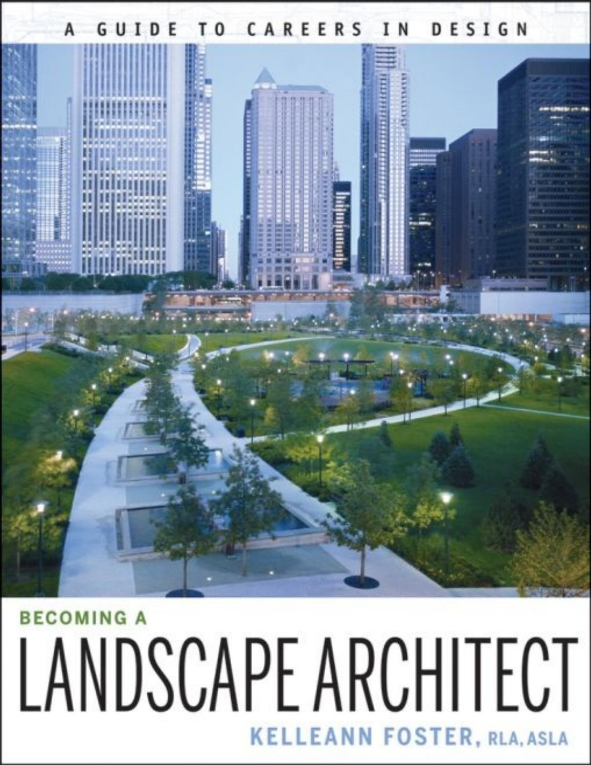 Becoming A Landscape Architect By Td Garden Issuu
